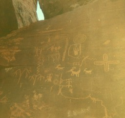 1968 Petroglyphs - Valley of Fire State Park, NV 120